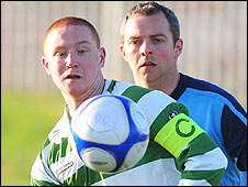 Donegal Celtic's Stephen McAlorum