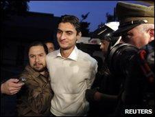 Mohammed Saif Ur Rehman Khan in Santiago, 11/05