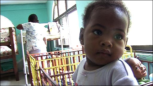 Inside a Haiti orphanage