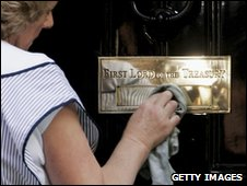 Bbc news why is the door at 10 downing st so shiny for 10 downing street front door paint