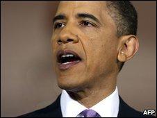 US President Barack Obama in Washington (11 May 2010)