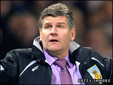 Burnley manager Brian Laws