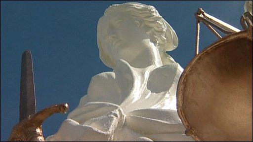 Bungay Statue of Justice