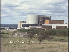 Wylfa power sation on Anglesey