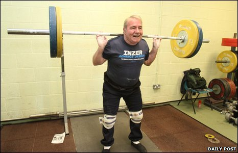 Weightlifter Doug Williams