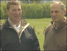 Sir Matthew Pinsent and Sir Steve Redgrave
