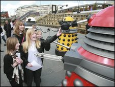 Daleks with Birley Community College