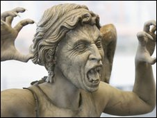 Dr Who monster: Weeping Angel
