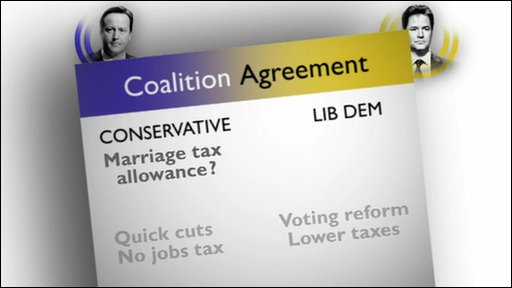 Coalition agreement