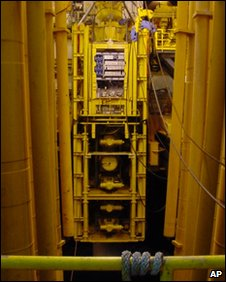Deepwater Horizon's blowout preventer (archive image from 2001)