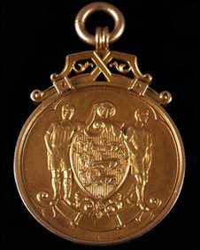 FA Cup medal 1938