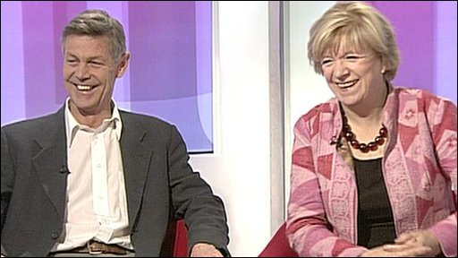 Matthew Parris and Polly Toynbee