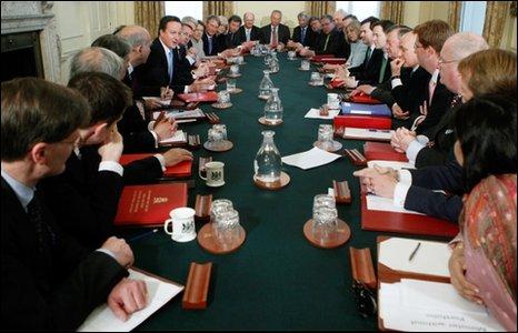 Cabinet Llywodraeth Prydain