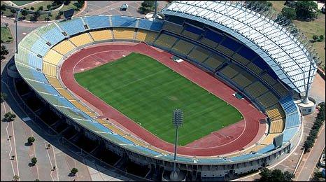 Royal Bafokeng Stadium in Rustenburg