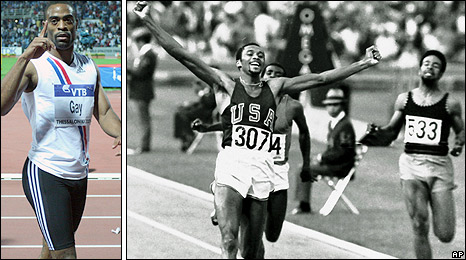 Tyson Gay is aiming for Tommie Smith's 44-year-old 200m record in Manchester
