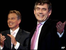 Tony Blair and Gordon Brown in 2006