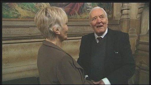 Sheila Hancock and Tony Benn