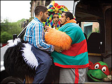 Four Lions follows four men plotting to kill thousands at the London Marathon