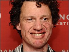 Chris Morris at the Sundance Film Festival premiere of Four Lions