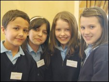 Sonny, Bethany, Emily and Holly