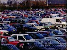 Manchester airport car park