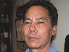 Indra Tamang at his home