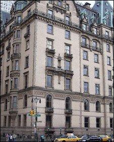 The Dakota building