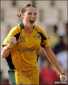 Rene Farrell picked up the early wicket of Sulakshana Naik