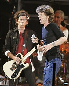 The Rolling Stones play Canada in 2005