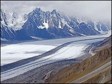 Himalayan glacier (Image: K.Hewitt)