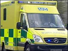 NHS ambulance