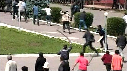 Clashes in Osh in southern Kyrgyzstan