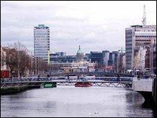 Millennium Bridge Dublin