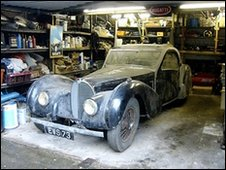 Long lost Bugatti