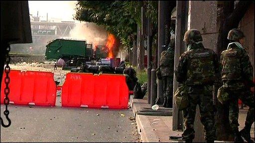 Violence in Bangkok