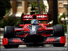 A Virgin car in Monaco