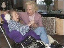 Anne Ravenscroft with daughter Heidi