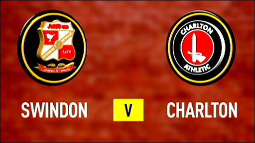 Swindon 2-1 Charlton