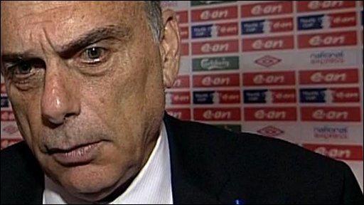 Portsmouth manager Avram Grant