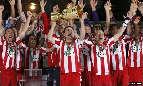 Bayern win German Cup