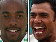 Westfield (left) and Kaneria (right)