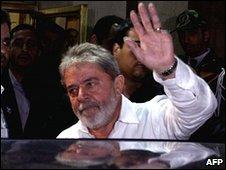 Luiz Inacio Lula da Silva in Tehran, 16 May