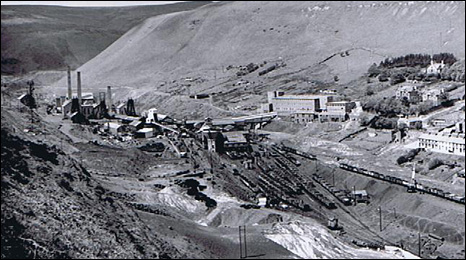 A panoramioc view of the Cambrain colliery