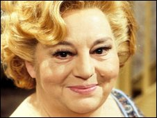 Hattie Jacques in the BBC's Sykes programme in 1978