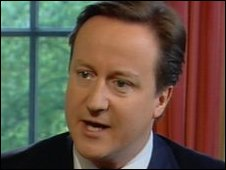 David Cameron interviewed on the Andrew Marr show