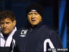 Oxford United manager Chris Wilder