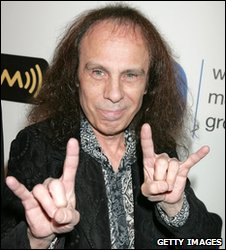 Ronnie James Dio in LA in February 2008
