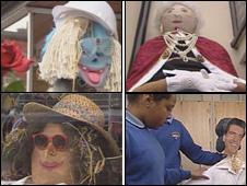 Entries to the Ruthin Scarecrow Festival