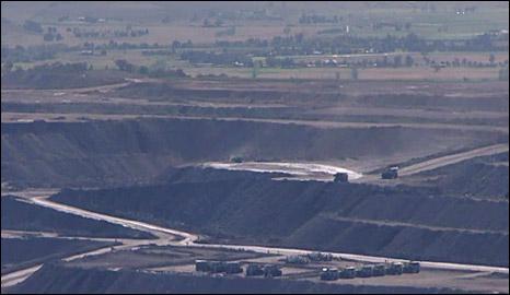 Mining in the Upper Hunter Valley