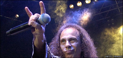 Hand sign by Ronnie James Dio